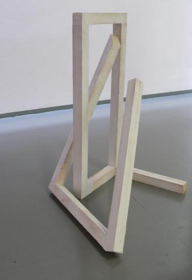 O.T. 2011, silicone, wood,130 x 90 x 70 cm /O.T. 2011, silicone, bois,130 x 90 x 70 cm