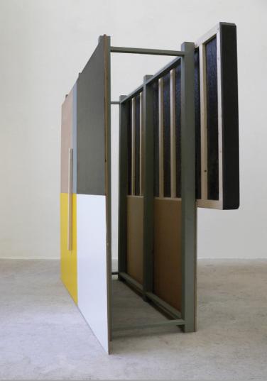 O.T. 2010, MDF, wood, foam, paint, 200 x 160 x 45 cm /O.T. 2010, MDF, peinture, bois, mousse, 200 x 160 x 45 cm