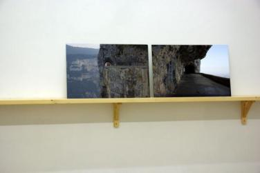 Aller, Retour. 2012, photographic diptych, 2 x 40 x 60 cm / Aller, Retour. 2012, diptyque photographique, 2 x 40 x 60 cm