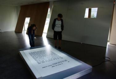 Scan p 26. 2011, light box, 250 x 150 cm / Scan p 26. 2011, caisson lumineux, 250 x 150 cm