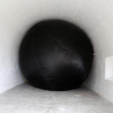 Via aerea, ballon solaire, diamètre 5m, 2015