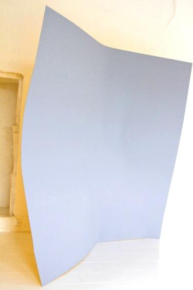 Point d'impact. 2010, lacquer on dibond, 200 x 200 cm / Point d'impact. 2010, laque sur dibond, 200 x 200 cm