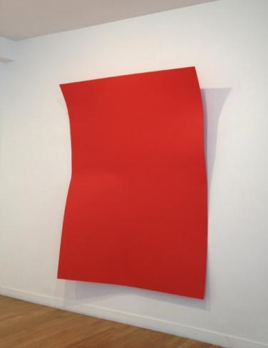 Point d'impact. 2012, acrylic on dibond, 195 x 150 cm / Point d'impact. 2012 acrylique sur dibond, 195 x 150 cm