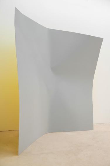 Point d'impact. 2012, lacquer and aerosol on dibond, 200 x 200 cm / Point d'impact. 2012, acrylique et aérosol sur dibond, 200 x 200 cm
