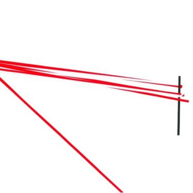Constraints 34. 2013, adhesive foil on paper, 42 x 29,7 cm /Constraints 34. 2013, adhésif sur papier, 42 x 29,7 cm