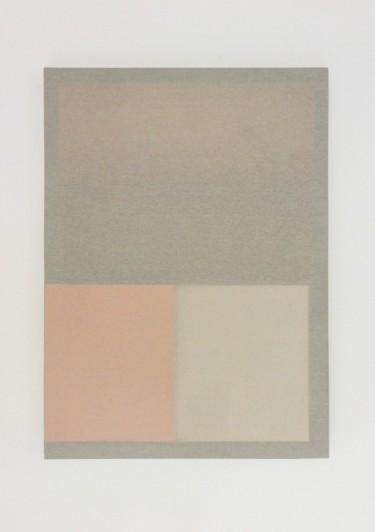 Stolen catalogue, 2014, wood, fabric, stolen catalogue, 60 x 43.5 x 3 cm