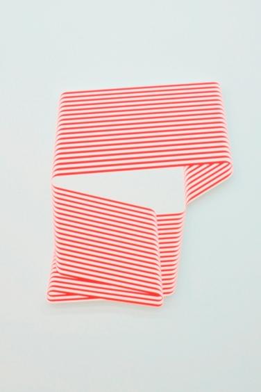 TERRY HAGGERTY. Untitled. 2014, acrylic on plywood, 76 x 58 cm / Sana titre. 2014, acrylique sur contreplaqué, 76 x 58 cm