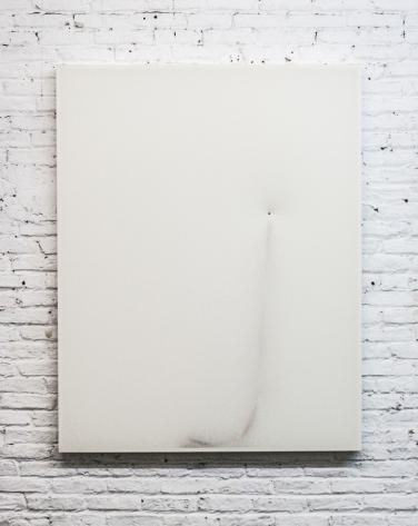 O.T. 2016, toile, papier, bois, 125 x 95cm