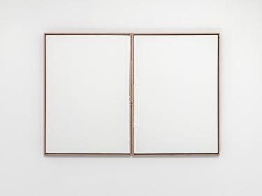 Stuttgartmünchenbrüssel, 2015, wood, fabric, city maps, 44 x 61 cm