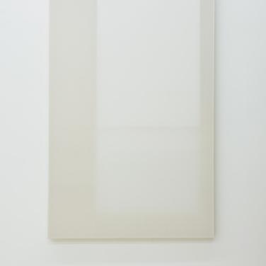 Untitled. 2014, wood, paper, poster, fabric, grid, 180 x 120 cm / Sans titre. 2014, bois, papier, affiche, tissus, grille, 180 x 120 cm