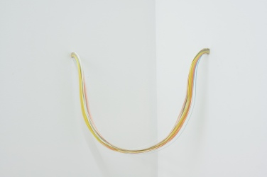 Beam Split. 2012, colored paper, dimensions variable / Beam Split. 2012, papiers colorés, dimensions variables