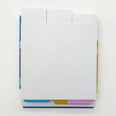 DISQUIET. 2014, lacquer on aluminum, 40 x 31 cm / DISQUIET. 2014, laque sur aluminium, 40 x 31 cm