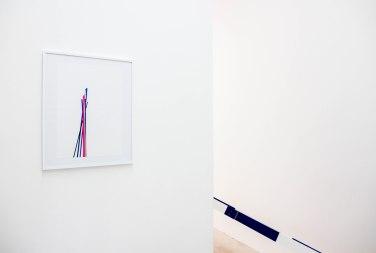 Regenerate 8. 2015, adhesive foil on paper, 42 x 29,7 cm / Regenerate 8. 2015, adhésif sur papier, 42 x 29,7 cm