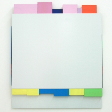 RESTLESS. 2014, lacquer on aluminum, 71 x 61 cm / RESTLESS. 2014, laque sur aluminium, 71 x 61 cm