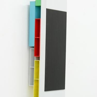 HOC. Lacquer on aluminum, 30 x 10 x 6,5 cm / HOC. Laque sur aluminium, 30 x 10 x 6,5 cm