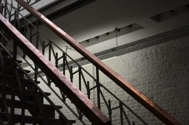 Untitled. 2013, installation, copper folded, 6,94 m / Sans Titre. 2013, installation, cuivre plié, 6,94 m