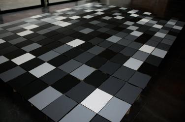 1/256 – 256/256. 2008, 256 different kinds of black