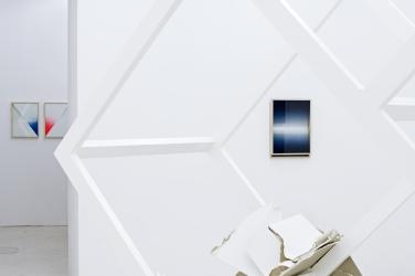 Untitled. 2015, installation, wood / Sans titre. 2015, installation, bois