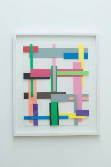 Flechten N°3. 2000, foam, 48 x 38 cm / Flechten N°3. 2000, mousse, 48 x 38 cm