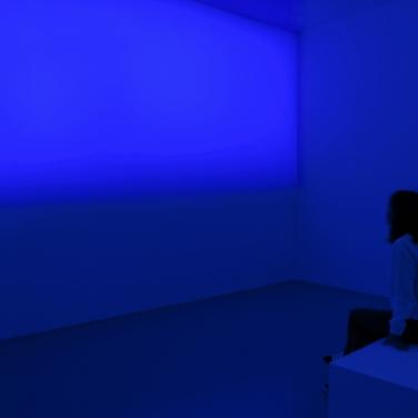 """Blue Hour. 2016. View of the exhibition """"Le temps de l'audace et de l'engagement - De leur temps (5)"""". Institut d'art contemporain, Villeurbanne (Fr). © Blaise Adilon / L'heure bleue. 2016. Vue de l'exposition « Le temps de l'audace et de l'engagement - De leur temps (5)», Institut d'art contemporain, Villeurbanne (Fr). © Blaise Adilon"""