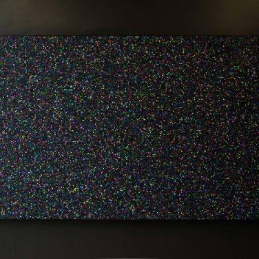 Ludovic Lignon - Sans titre (noir), 2014 - 2015. Impression pigmentaire sur papier contre-collé, 102 x 2014 cm