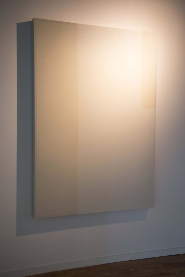 Ninakarlin Prinz - Sans titre, 2015. Bois, tissu et peinture, 185 x 130 x 10 cm