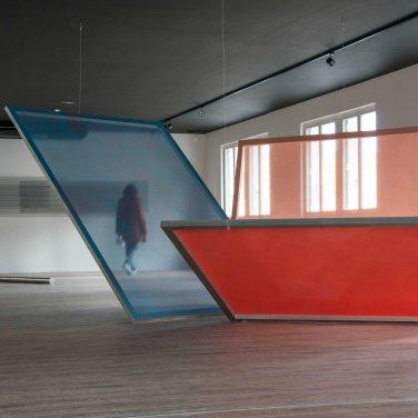 Vue d'exposition, Cécile Bart, Perrine Lacroix et Dimitri Mallet