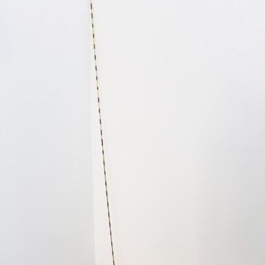ETUDE POUR HÔPITAL - 2017. Technique mixte, 200 x 0,6 cm