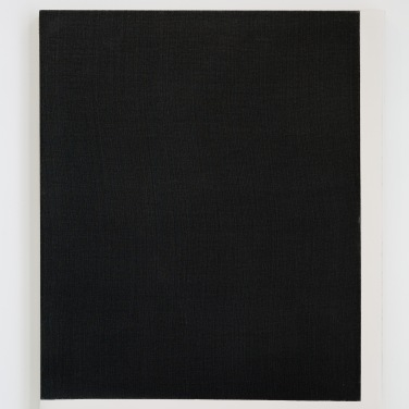 Lin teind, enduit d'entoilage, 40_50 cm, 2017, 2